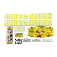 John Deere D Mylar Decal Set 1923 - 1938