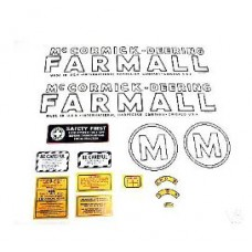 Farmall M Mylar Decal Set 1939 - 1944