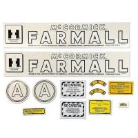 Farmall A Mylar Decal Set 1945 - 1952