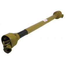 Complete PTO Shaft, (Lz) Length: 710mm, 1 3/8'''' x 6 Spline Q.R. to 1 3/8'''' x 6 Spline Q.R.