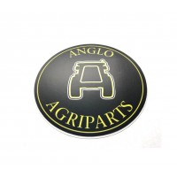 Anglo Agriparts - Circular Sticker - Merchandise