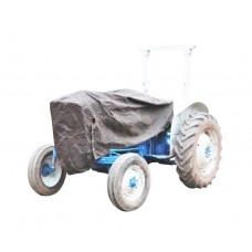 Vintage Tractor Canvas Sheet Cover - Bonnet & Seat