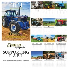 Tractor Calendar - Anglo Agriparts - Year 2021