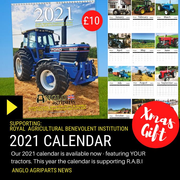 2021 Charity Tractor Calendar
