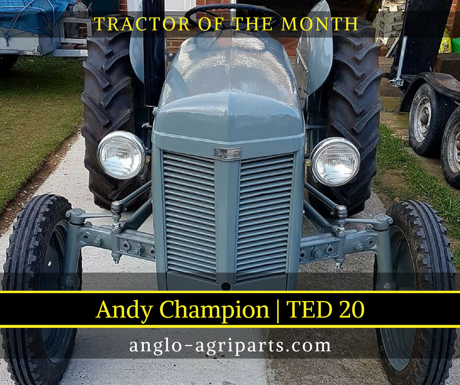 TRACTOR OF THE MONTH MAY 2018