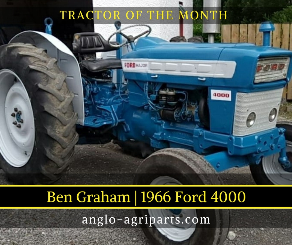 TRACTOR OF THE MONTH AUG 2018