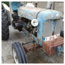 Mathias Pollentier's Fordson Super Major