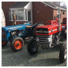 Tom Morgan's Massey Ferguson & Fordson