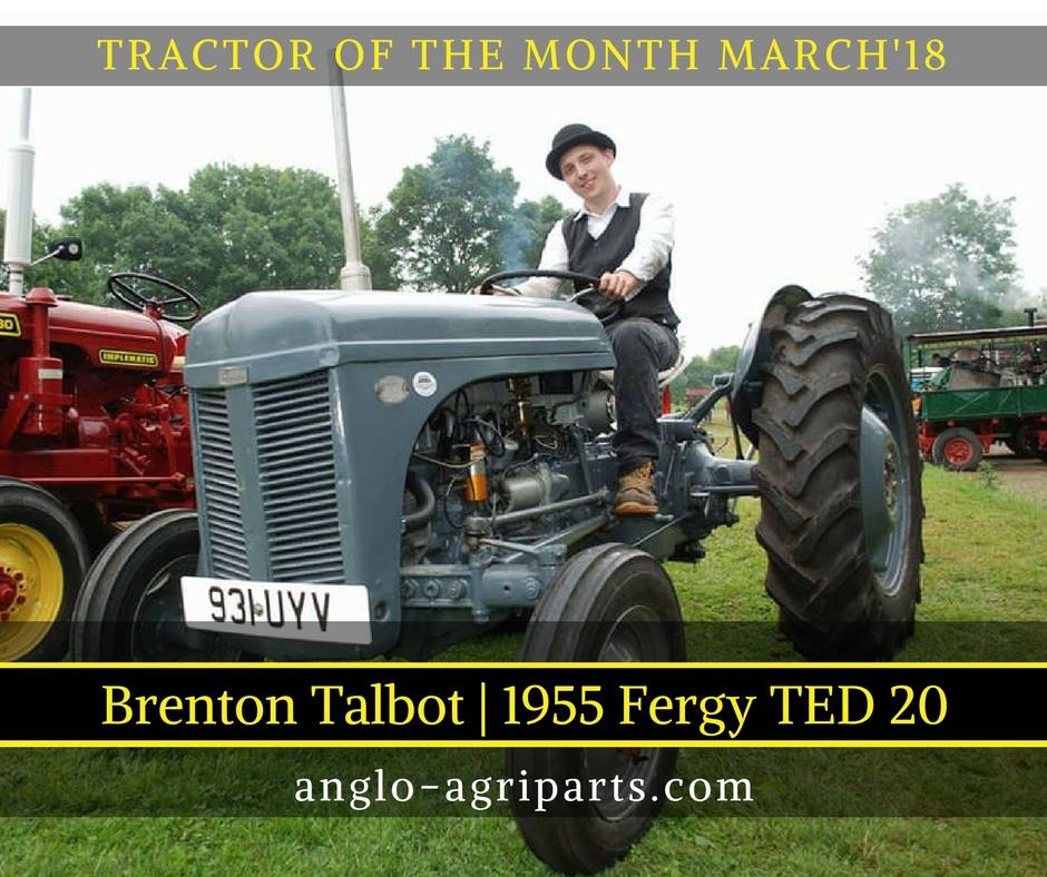 TRACTOR OF THE MONTH MARCH 2018