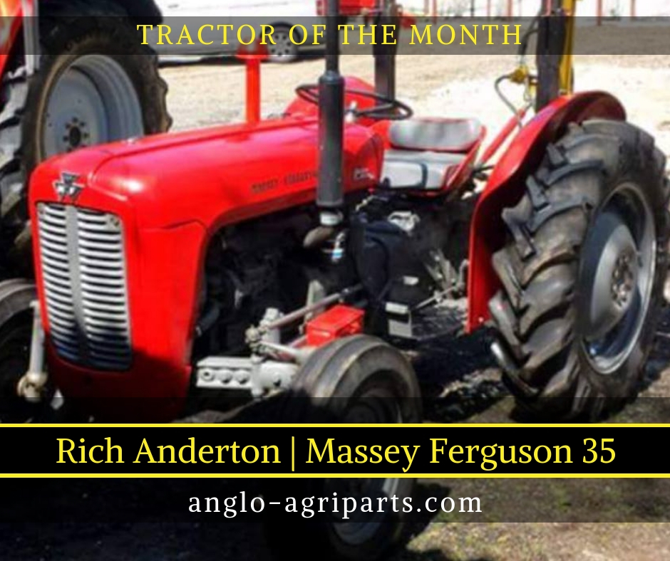 TRACTOR OF THE MONTH SEPT 2018