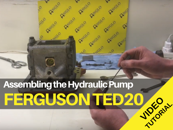 Ferguson TED20 Hydraulic Pump Assembly Video