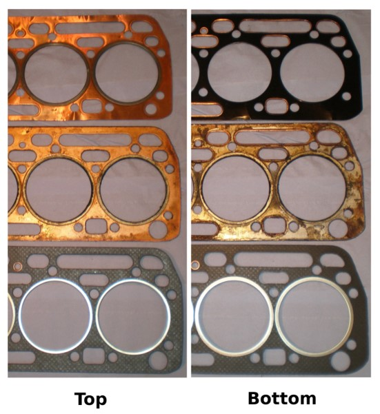 Fordson Major TRACTOR Cylinder Head to Cylinder Block seal