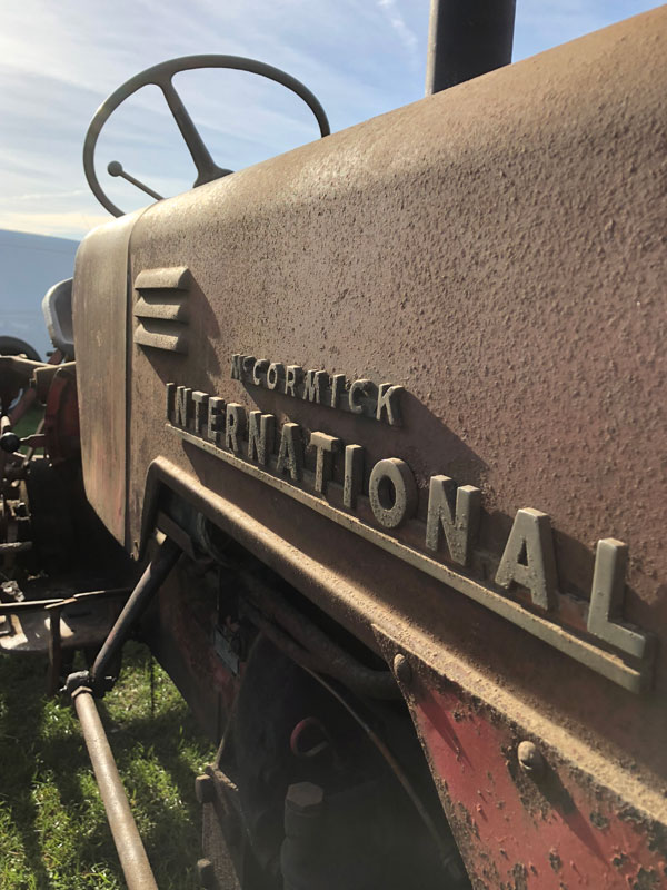 Case International Harvester - At The Tractor World Show 2018