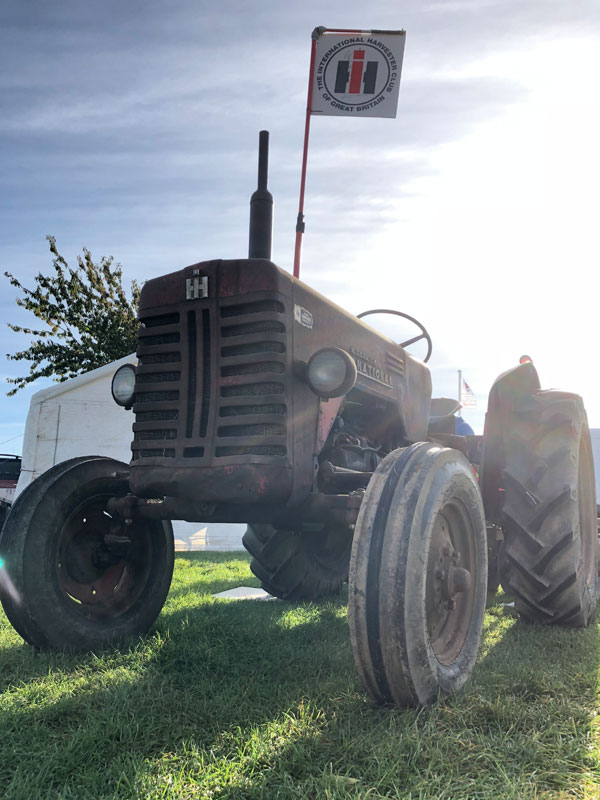 The Case International Harvester Club of GB tractor