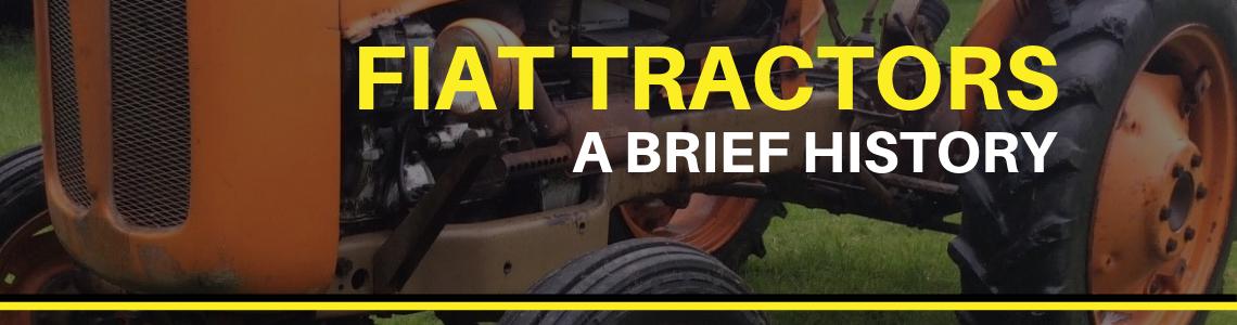 A history of Fiat Tractors