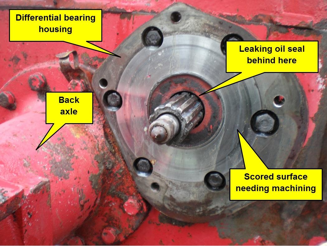 Bradford Built Case International Harvester Major Brake Overhaul