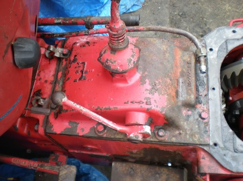 Gearbox top cover