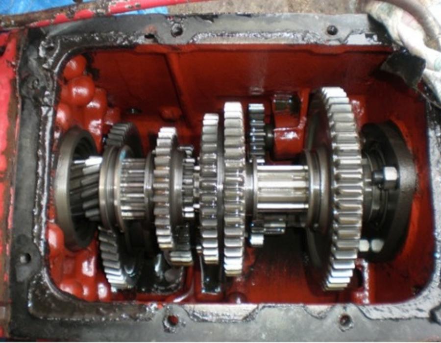 Gearbox internals
