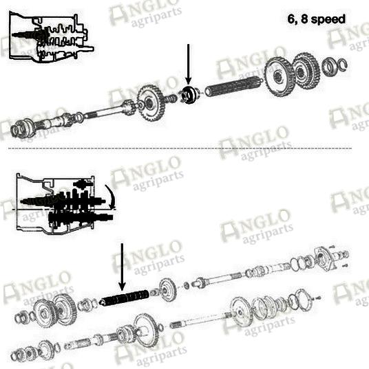 | transmission main input shaft bearing | a47695 | anglo ... g56 diagram main shaft phone box wiring diagram main #9