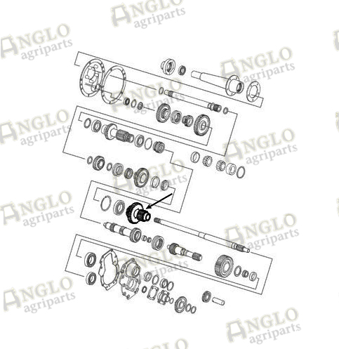Allis Chalmers 5030 Wiring Diagrams moreover Transmission Countershaft Gear 35t 16t A53650 together with Agco Allis Wiring Diagram likewise Ford 2600 Tractor Electrical Diagram further  on ford 5030 parts diagram