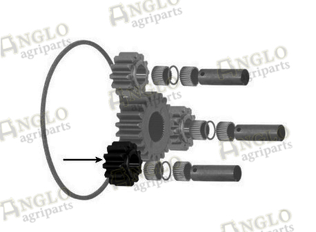 pinion epicyclic gear a62252 anglo agriparts. Black Bedroom Furniture Sets. Home Design Ideas